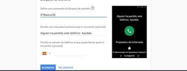 Cómo bloquear un móvil Android robado