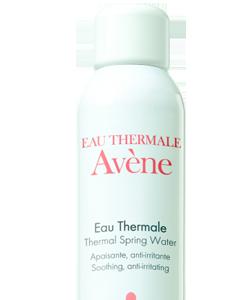 Eau Thermale, agua termal de Avène: fija tu maquillaje y oxigena tu piel tras el desmaquillado