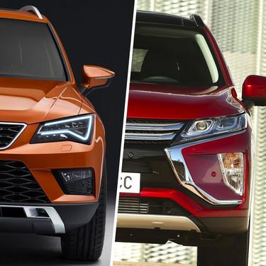 Mitsubishi Eclipse Cross vs. SEAT Ateca vs. Honda CR-V: ¿Cuál C-SUV turbo conviene más?