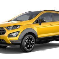 ¡Filtrado! Ford EcoSport Active 2021 se deja ver en todo su esplendor antes de su presentación oficial