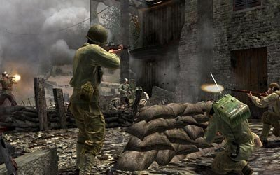 Call of Duty 3, versión X360