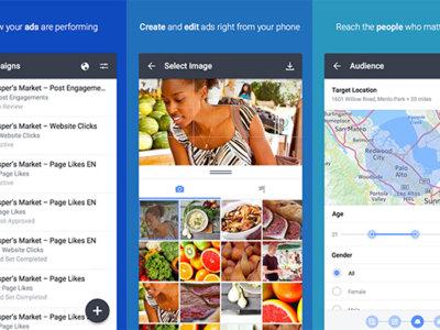 Anuncios de Facebook, el administrador de campañas publicitarias para empresas llega a Android