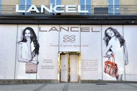 Lancel reabre hoy su boutique en Champs Elysées