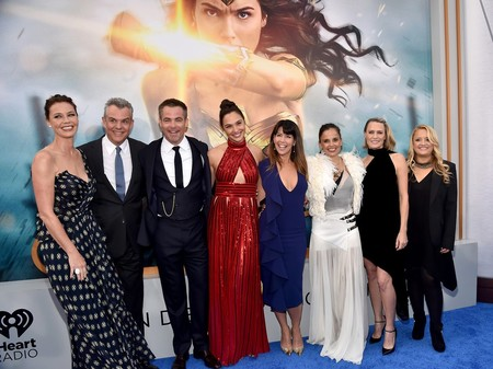 Una foto de la premiere de Wonder Woman
