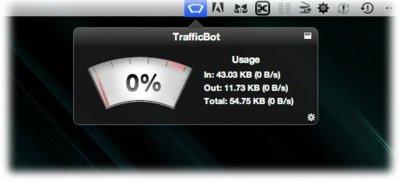 TrafficBot, comprueba de un vistazo el consumo de datos