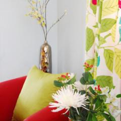 Foto 5 de 5 de la galería un-salon-en-rojo-y-verde en Decoesfera