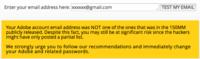 Cómo saber si tu contraseña de Adobe está entre las filtradas en Internet