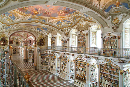 The Admont Library Admont Austria