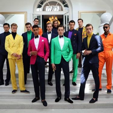 Purple Label de Ralph Lauren le apuesta todo al color en su colección de primavera 2020