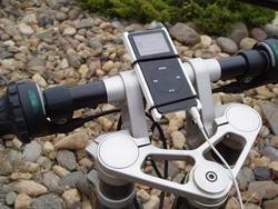 Mork Mount, soporte de bicicleta para el iPod