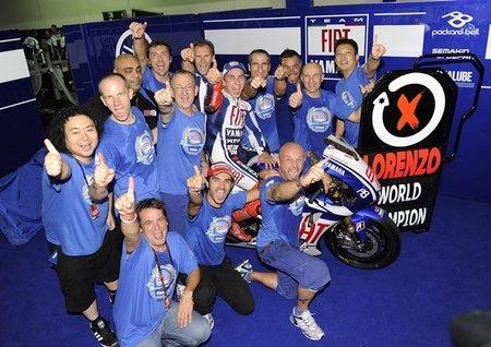 Jorge Lorenzo campeón del mundo de MotoGP