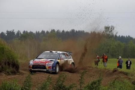 Comienzan las hostilidades en el Rally de Polonia