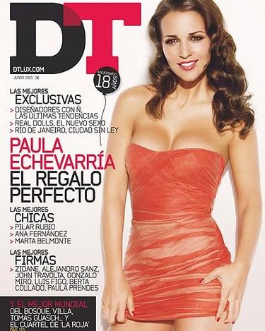 Paula Echevarría, puro glamour en la revista DT