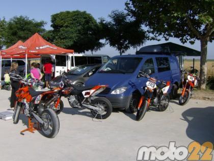 Moto22 en la competición: Entrenamientos de la primera prueba en Castroponce