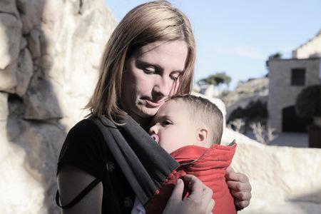 La foto de tu bebé: Juan Miguel y su mamá
