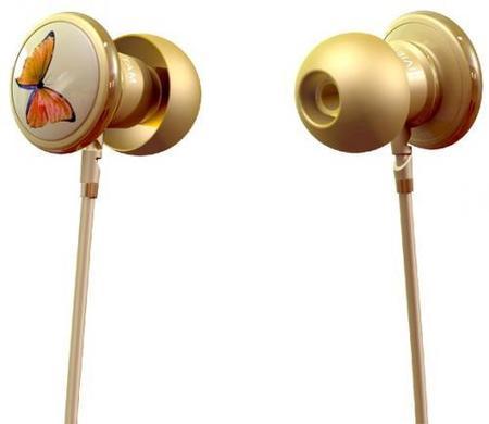 Butterfly, unos auriculares de diseño