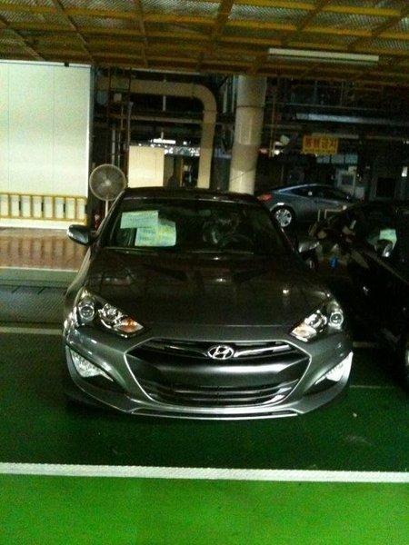 Hyundai Génesis 2012