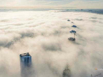 No hay nada más cautivante que la belleza de Minsk a vista de drone y en formato timelapse