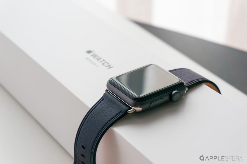 El Apple™ Watch Series tres se resiste a