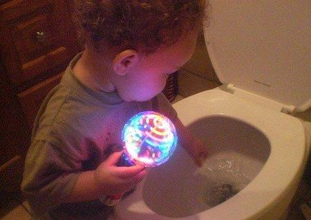 La irresistible atracción del agua del inodoro