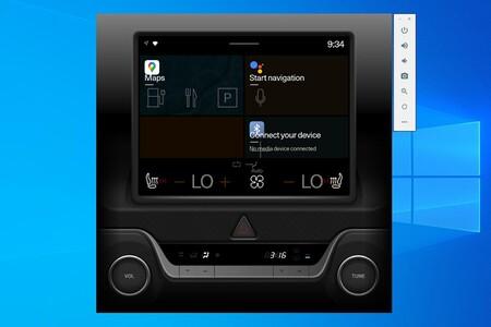Cómo probar Android Automotive en Windows con el emulador de Android Studio