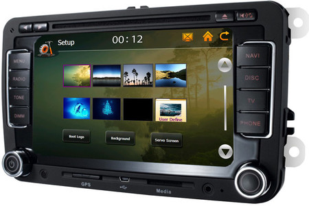 Radio CD GPS 2DIN