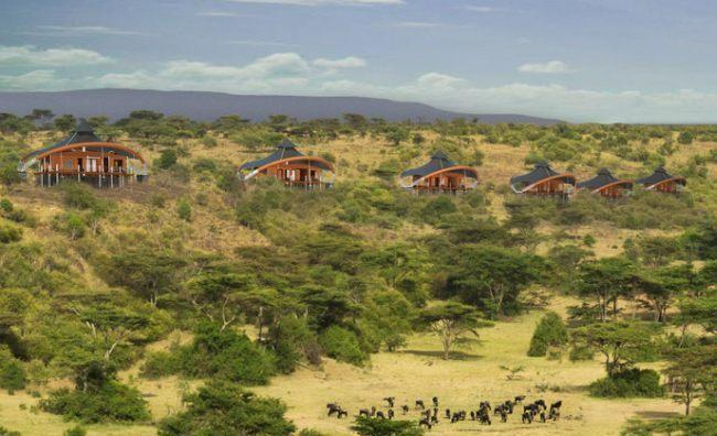 Campamento Mahali Mzuri en Africa de Virgin Imagen tiendas