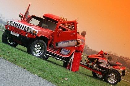 El Hummer H2 de Papá Noel