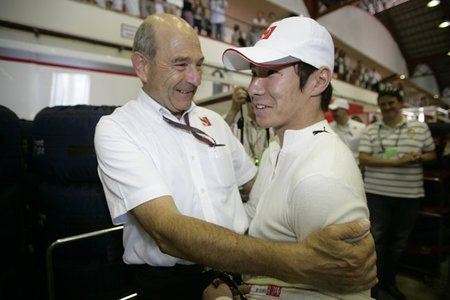Peter Sauber está encantado con Kamui Kobayashi