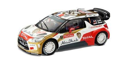 Ahora puedes incorporar a tu Scalextric el Citroën 'Abu Dhabi' de Loeb