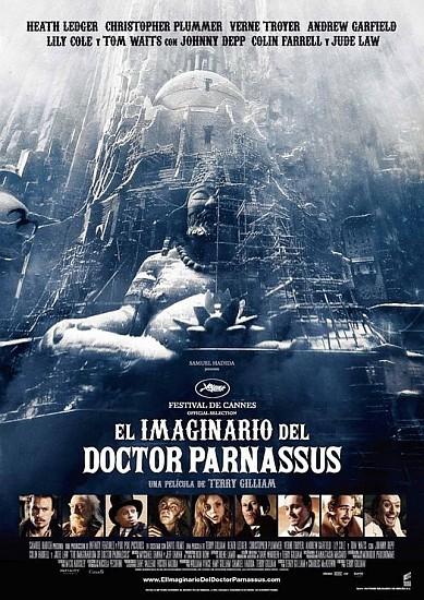 'El imaginario del doctor Parnassus', nuevos carteles