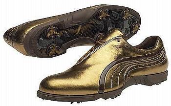 Puma Concorde Gold, para que brilles en el campo de golf