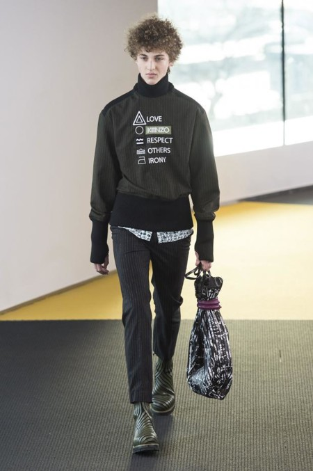 Kenzo Mens Autumn Fall Winter 2015 Pfw19