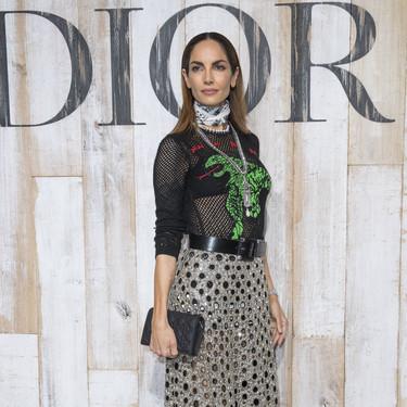 Todas las invitadas al desfile de Dior colección Crucero 2019. Eugenia Silva y Adriana Ugarte han puesto la nota española