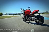 Ducati Monster 1200, prueba (valoración, galería y ficha técnica)