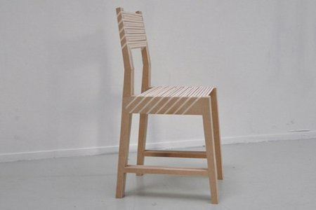 Silla Triplette, tres sillas en una sola