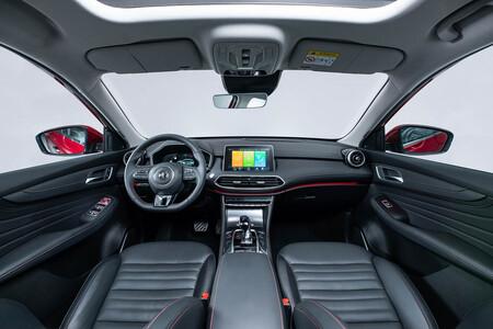 MG HES SUV híbrido enchufable etiqueta CERO menos de 40.000 euros