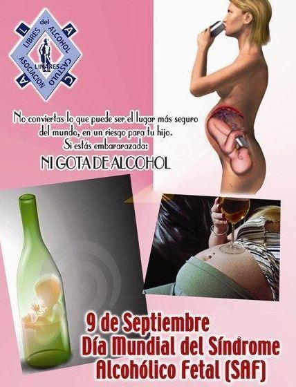 9 de septiembre, Día Mundial del Síndrome Alcohólico Fetal