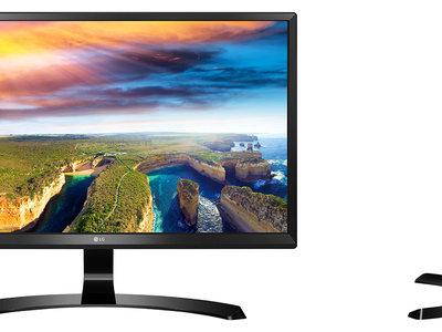 Monitor de 24 pulgadas LG 24UD58-B, con resolución 4K, por 269,99 euros y envío gratis