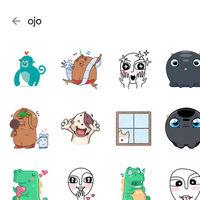 Cómo buscar stickers en WhatsApp