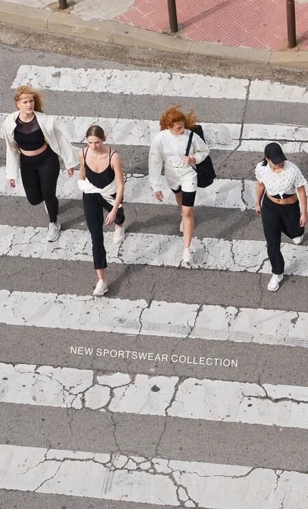 Ya tienes una nueva excusa para volver al gimnasio: Stradivarius lanza su primera Sportswear Collection