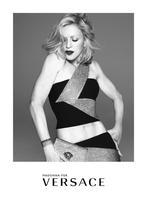 El cuerpo sin Photoshop de Madonna. Por Versace
