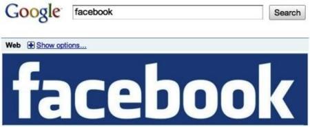 Google añade páginas de Facebook en sus búsquedas en tiempo real