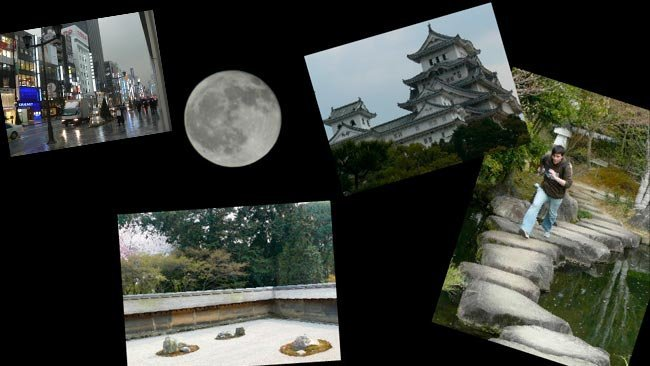Ejemplo de Collage con Fotonea - Japón 2007
