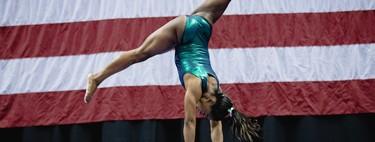 Un salto sin precedentes: Simone Biles consigue hacer un doble mortal hacia atrás con triple giro