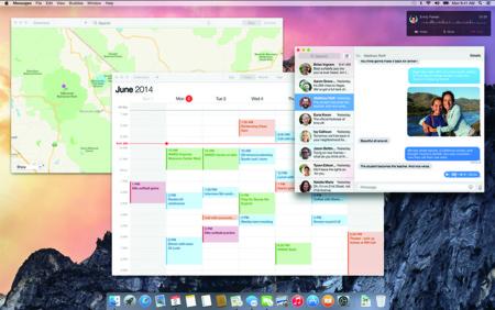 OS X Yosemite Escritorio