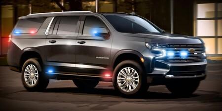 Estas Chevrolet Suburban cuestan 76 MDP cada una y fueron desarrolladas para el gobierno estadounidense
