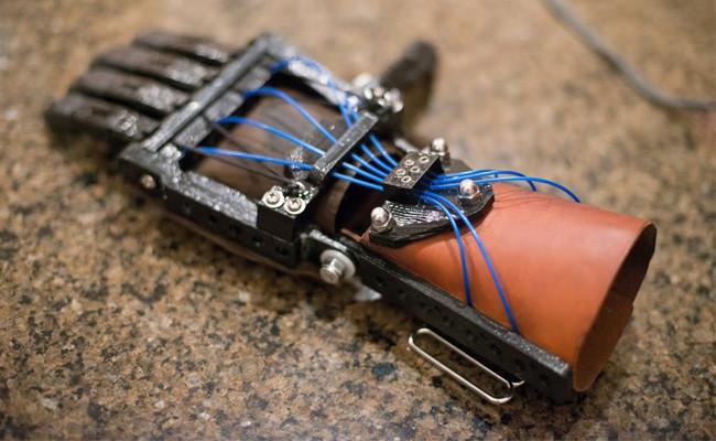 Talon Hand, una prótesis de mano creada con una impresora 3D
