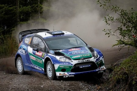 Rally de Gales 2012: los Ford vuelan en su terreno favorito