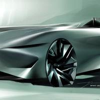 Infiniti Prototype 10, el escultural speedster eléctrico que la marca ha preparado para Pebble Beach